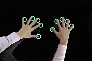 MultiTouch Cell identifies hands